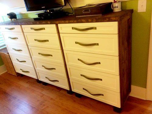 diy ikea tarva dresser. Ikea Tarva Hack Into 3 Dressers Diy Dresser