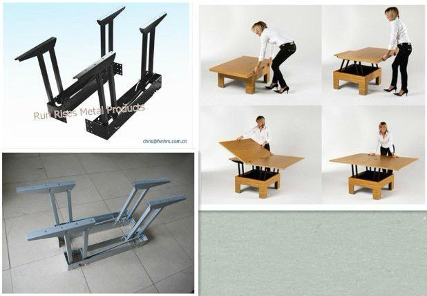 Folding Mechanism For Table Function Dining Lifting B12