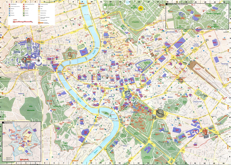 Rome Map Google Kereses Avec Images Carte Rome Rome Italie