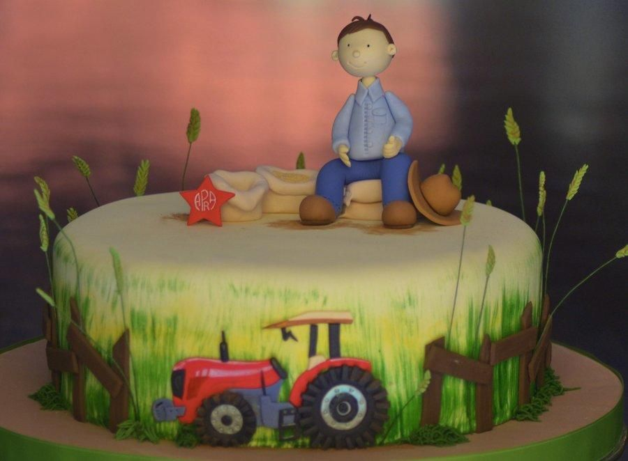 Agriculture Cake Cake By Monika Moreno Farm Western