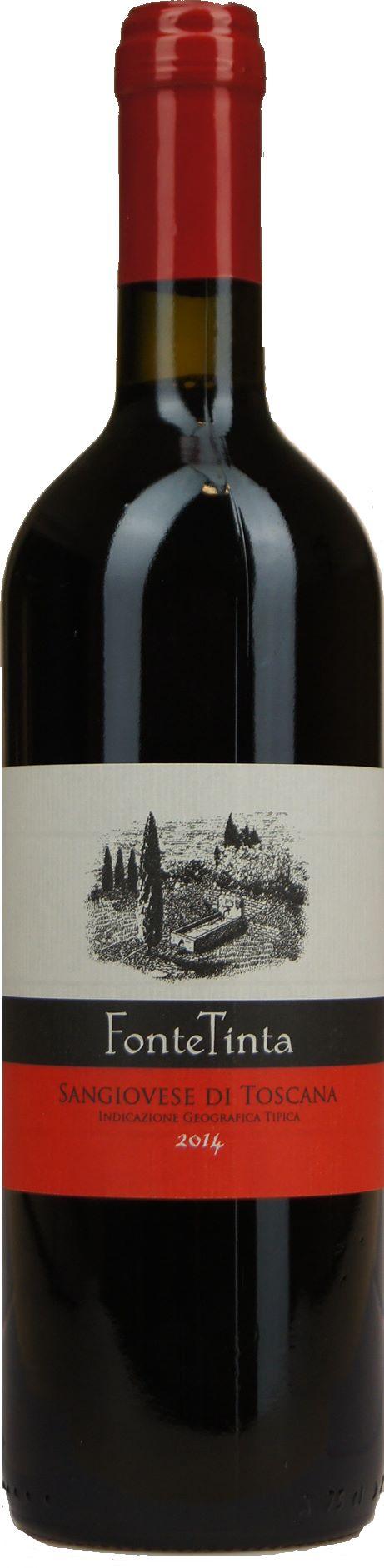 Fonte Tinta Sangiovese Di Toscana I G T Dewit Wijnen Rode Wijn Wijn