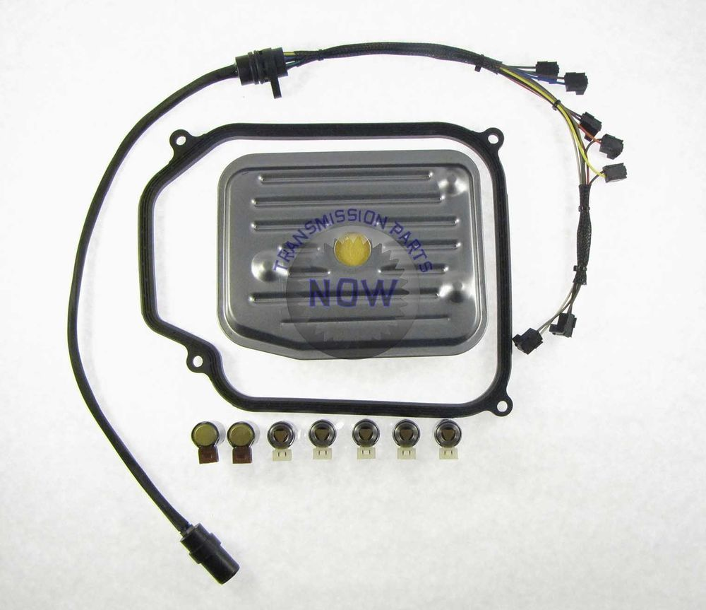 medium resolution of 01m transmission wiring harness 7 piece solenoid set gasket filter 75446rfk rostra