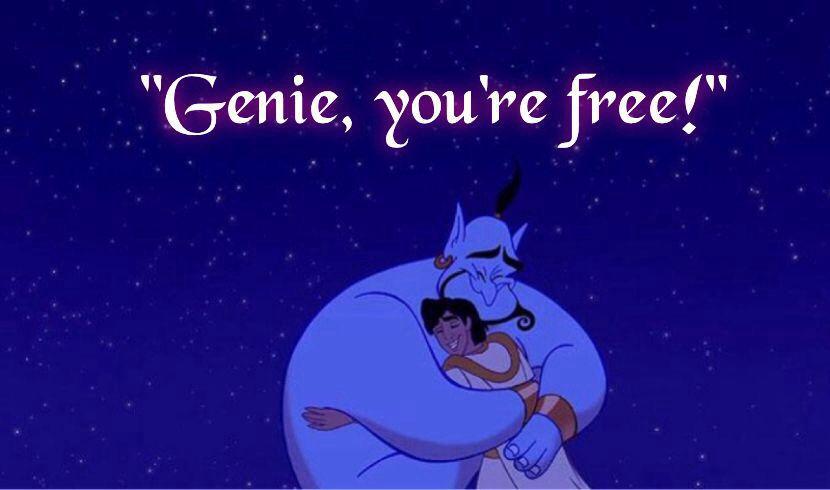 Genie Is Free