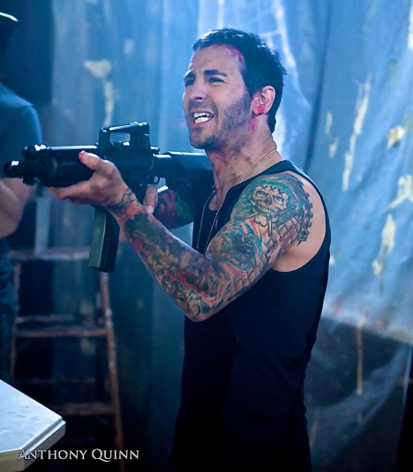 Check out this pic of Sully Erna in his new upcoming film Army of the Damned! Out 1/14/14!!!!