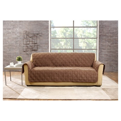 Sure Fit Deluxe Pet Cover Sofa Slipcover Sable Sf39227 Pet Sofa Cover Pet Sofa Sofa Covers