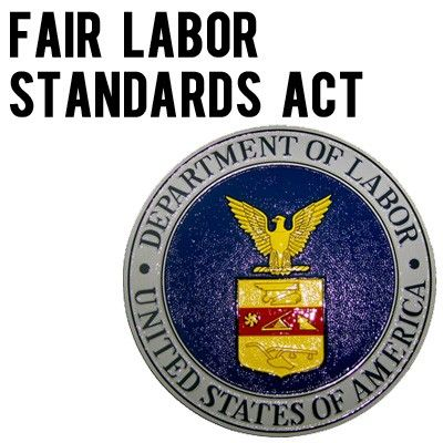 Fair Labor Standards Act Of 1938 Minimum Wage Fair labor standards - family medical leave act form