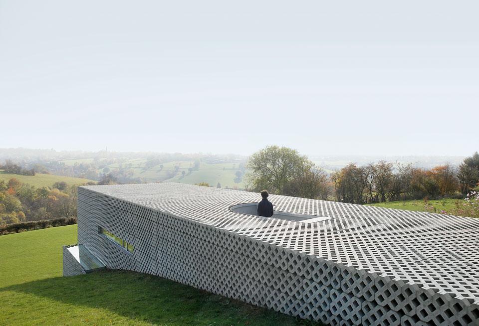 Nicolas Firket Architects, precast concrete, Residential, Single ...