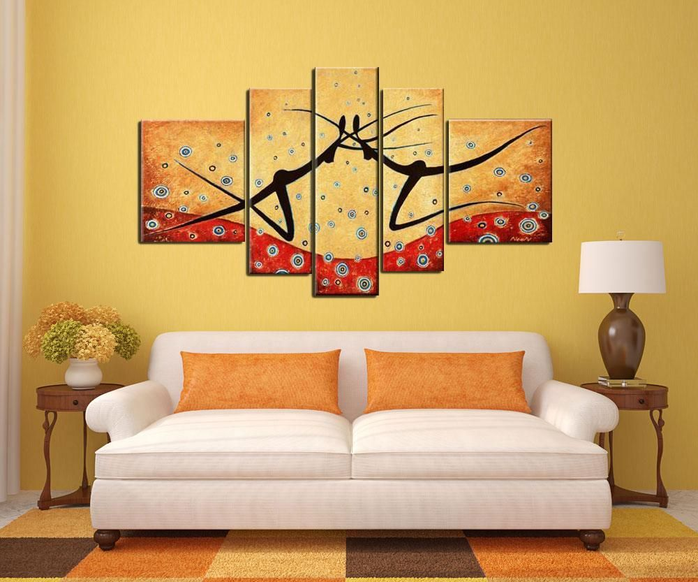 5 decorative painting Home Decor Home wall art European landscape ...
