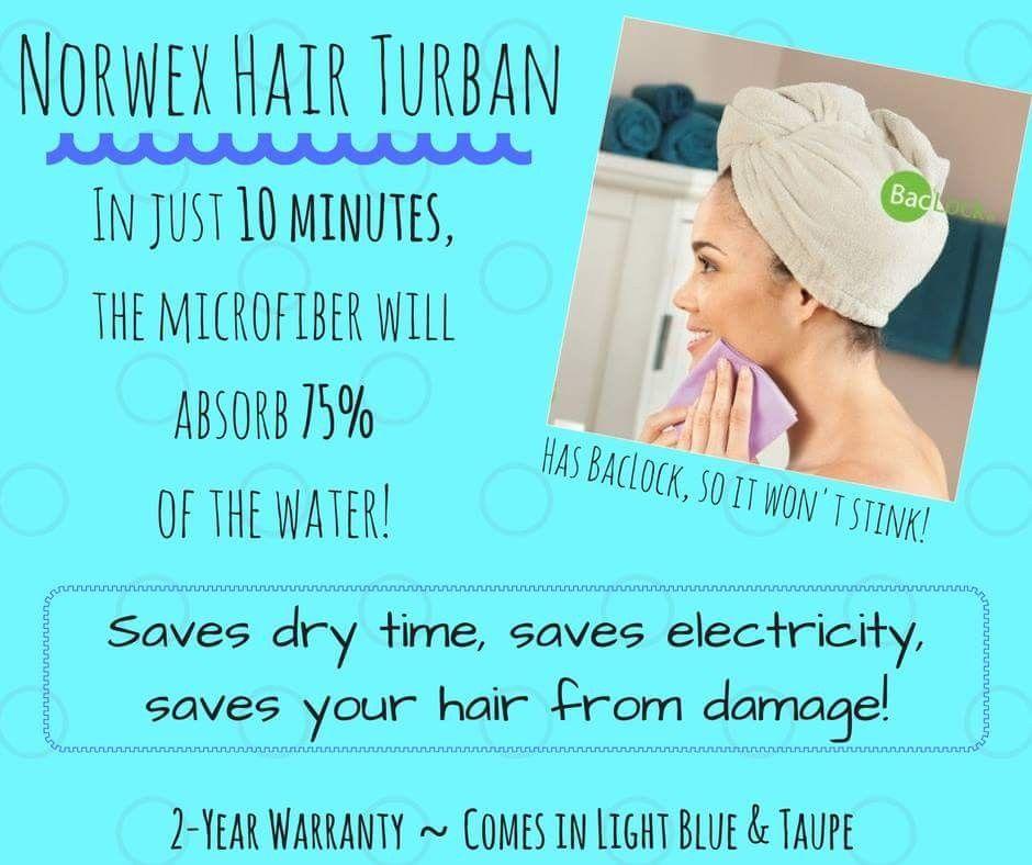 Hair Turban Norwex Pinterest Turban Norwex Biz And Norwex