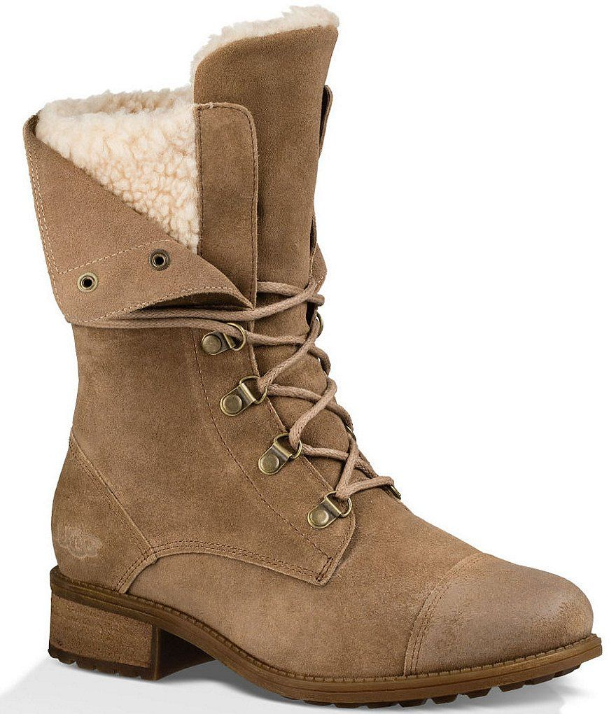UGG® Gradin Deconstructed Shaft Cold-Weather Lace Up Boots
