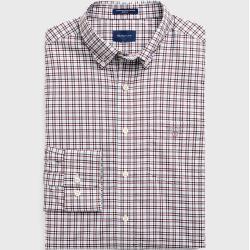 Gant Broadcloth 3-Color Gingham Hemd (Rot) GantGant