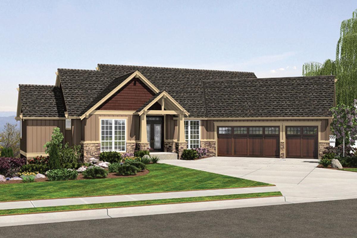 House Plan 2559 00708 Craftsman Plan 3 506 Square Feet 4 Bedrooms 3 5 Bathrooms Craftsman Style House Plans Craftsman House Plans Craftsman House