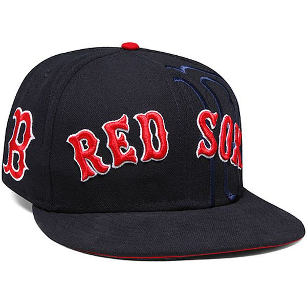e3eac32d96f ... promo code for mens boston red sox new era navy word logo 59fifty  fitted hat todays ...