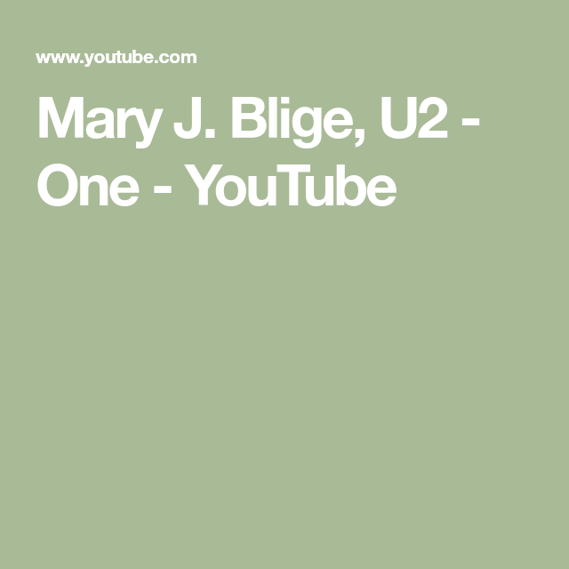Rose Glen North Dakota ⁓ Try These Youtube One Love U2 Mary