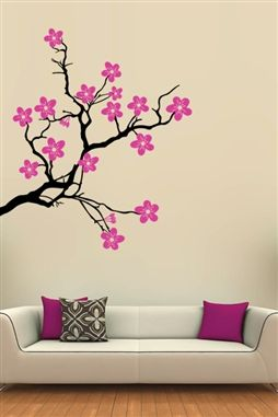 Tree Wall Decals Branch Wall Decals Wall Painting Decor Simple Wall Paintings Diy Wall Painting