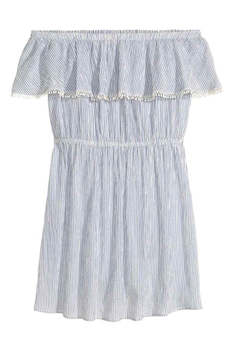 e8b5496c2c7f Cotton off-the-shoulder dress