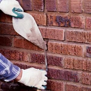 How To Repair Mortar Joints Masonry Wall Learning And Walls