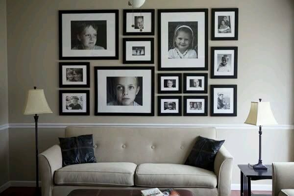 ideas-decoracion-con-fotos (14) u2026 Pinteresu2026