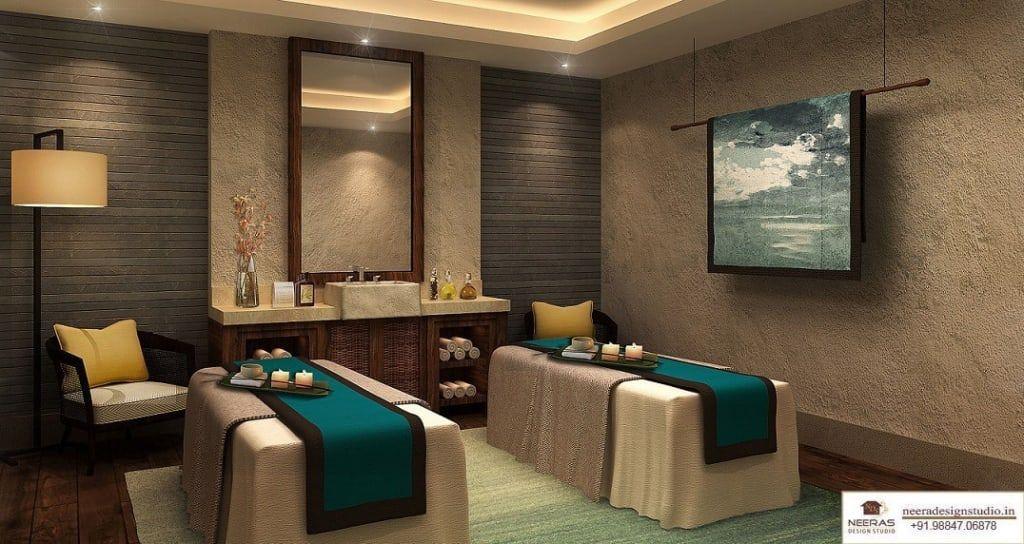 Remarquable Spa design: spa by neeras design studio | homify | Spa interior TD-49