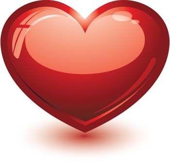 3d Heart Vector Heart Vector Ai Illustrator Photoshop Heart Design Ai Vector Love Sign Heart Vector 3d Heart Heart Images Heart Art