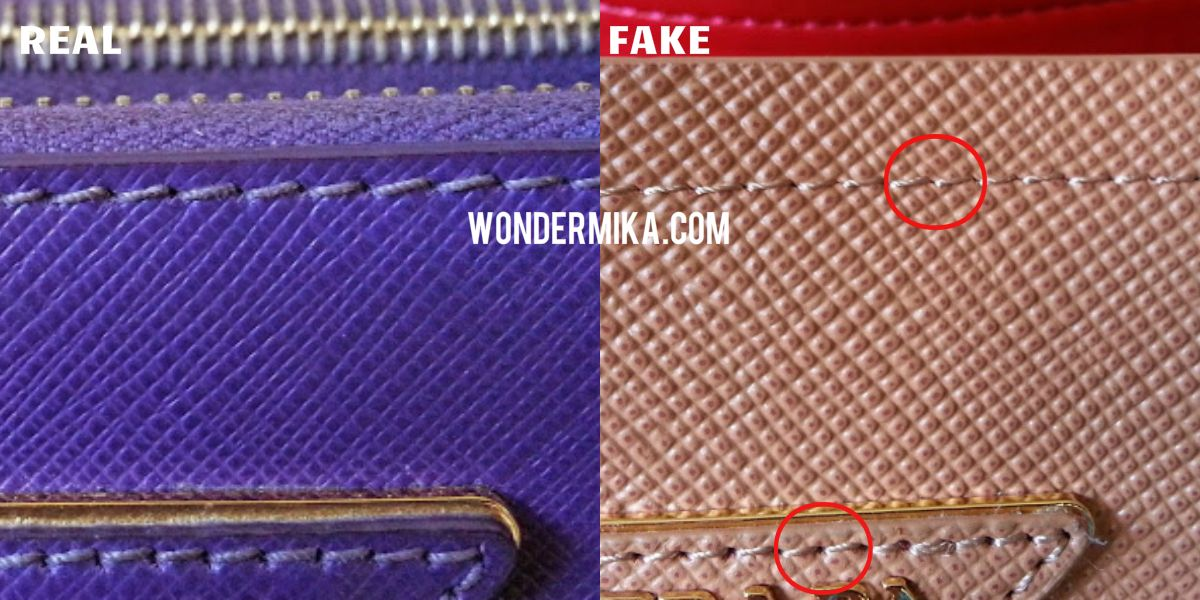 942ea88d5d1709 How to spot a fake Prada bag? See it here in pictures! | Designer ...