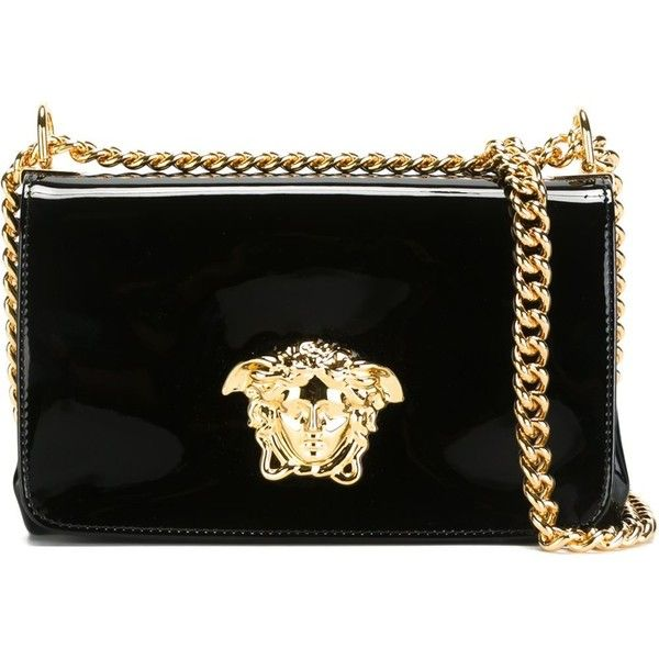 9b554bf33c7f Versace  Palazzo  shoulder bag (685 KWD) ❤ liked on Polyvore featuring bags