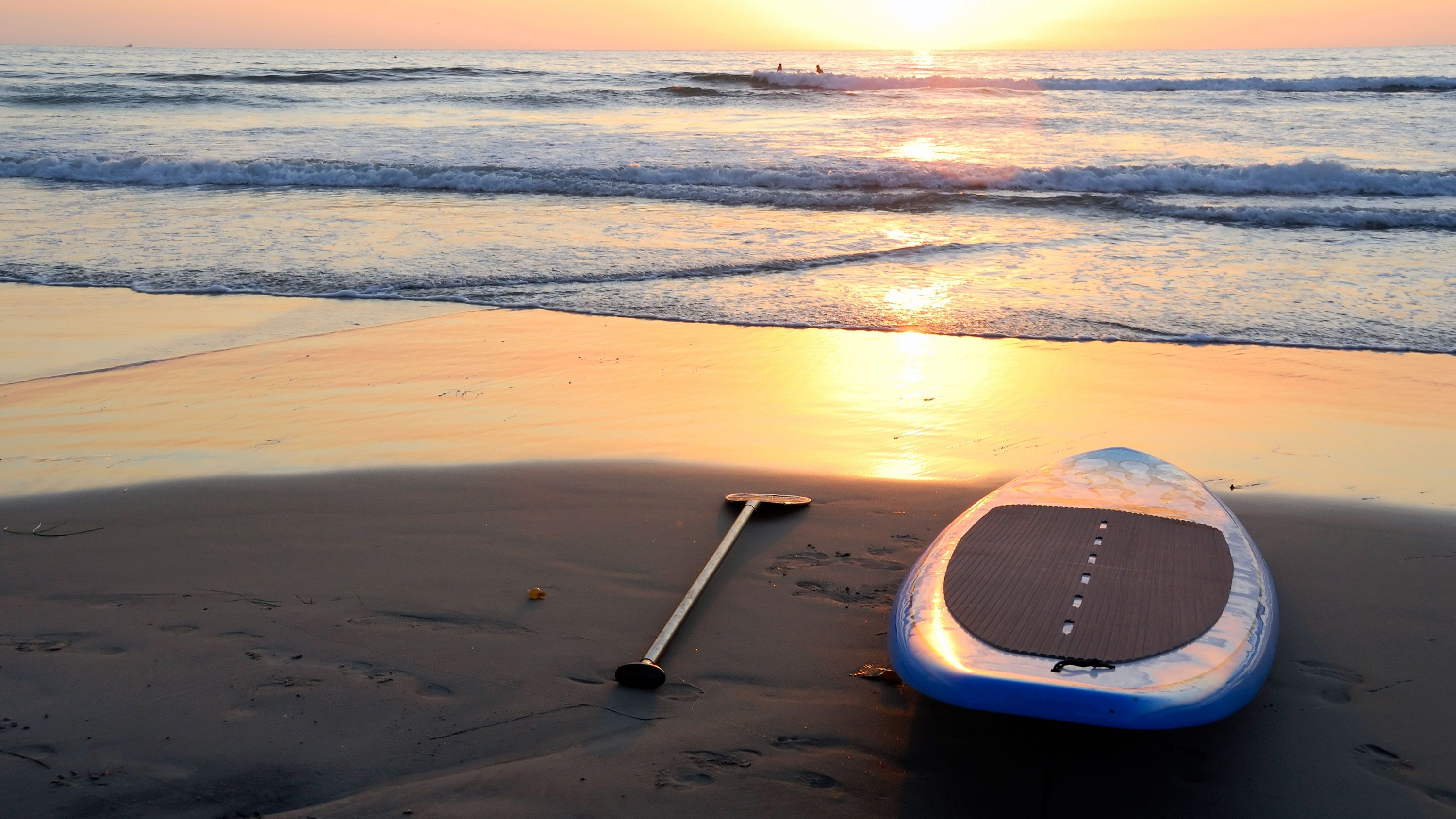 Paddle boarding is one of my favorite activities. I love finding ways to have fun outside.   - HarpersBAZAAR.com