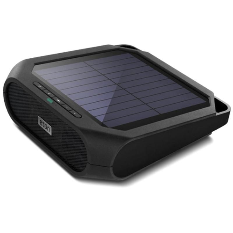The Eton Rugged Rukus Solar Bluetooth Sound System Is A Eco Friendly Ed Wireless Speaker That Also Doubles Up As Phone Charger
