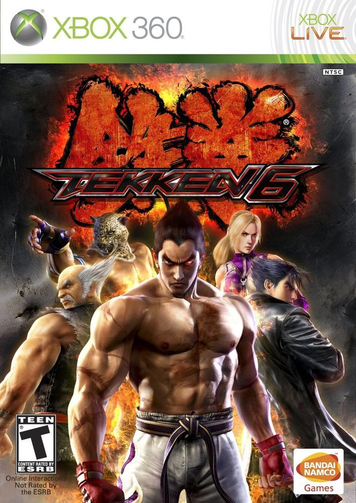 Tekken 6 Microsoft Xbox 360 2009 Game Download Free Download Games Free Pc Games Download
