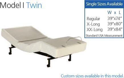 Adjustable Twin Bed Craftmatic Adjustable Beds Adjustable