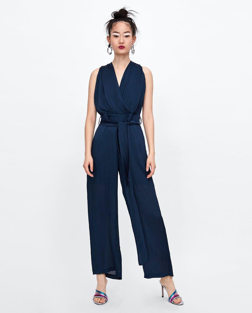 foto ufficiali 7f068 7aa24 Tuta con pizzo | Elegant outfit nel 2019 | Zara, Tute e Pizzo