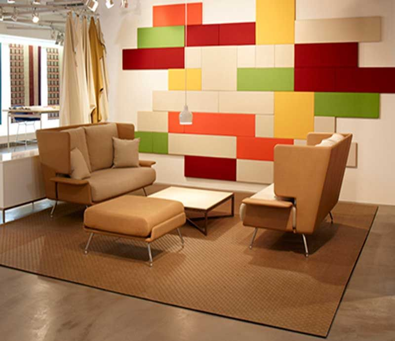 love how the wall becomes the ceiling corporate project pinterest fabric walls acoustic wall and acoustic