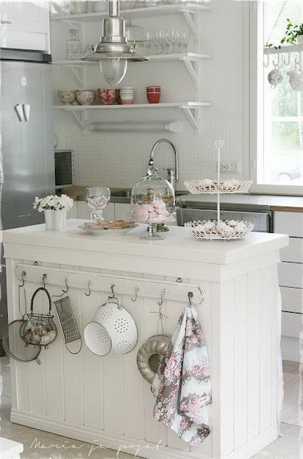 Shabby Chic Kitchen Décor Must Have Anything To Do With Old Style Interiordecorstylesshabbychic