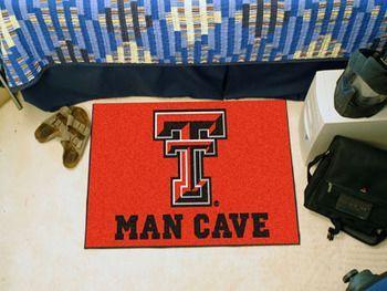 """Texas Tech University Man Cave Starter 19"""""""" X 30"""""""""""