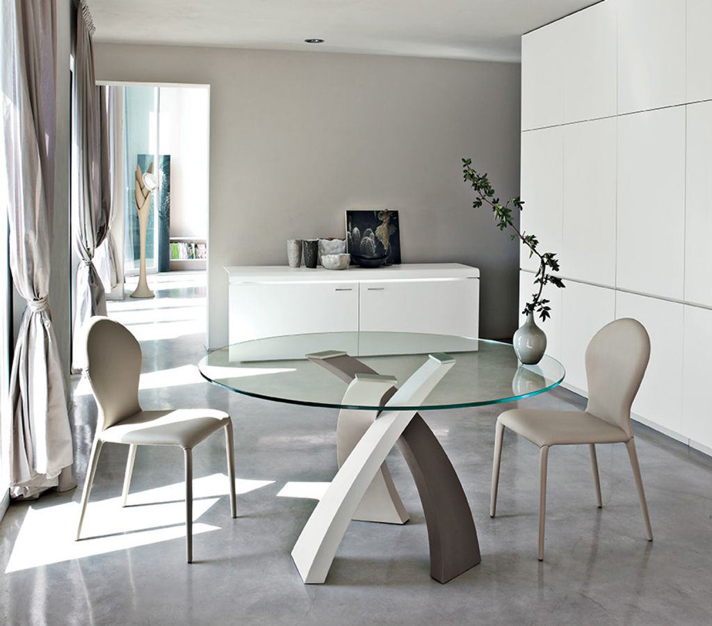 Contemporary dining table bases  Eliseo  Design Depot Furniture  Miami Showroom  Dining Tables