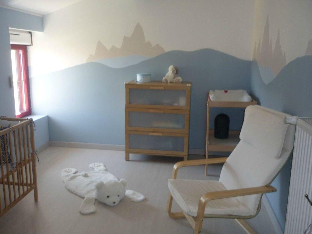 deco chambre bebe theme banquise  Déco chambre bébé, Idée déco