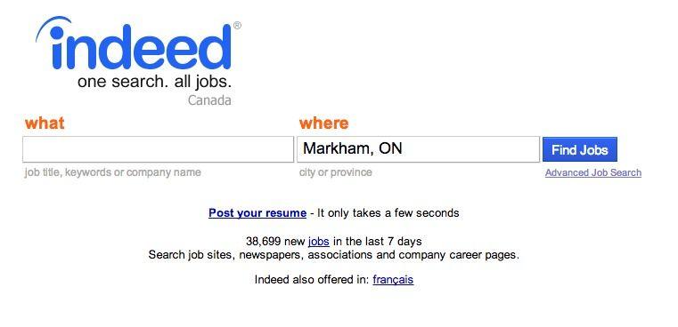 Http Ca Indeed Com Job Search Find A Job Job