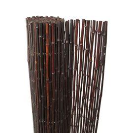 Canisse Bambou Noir L 3 X H 1m Canisse Bambou Canisse Bambou Noir