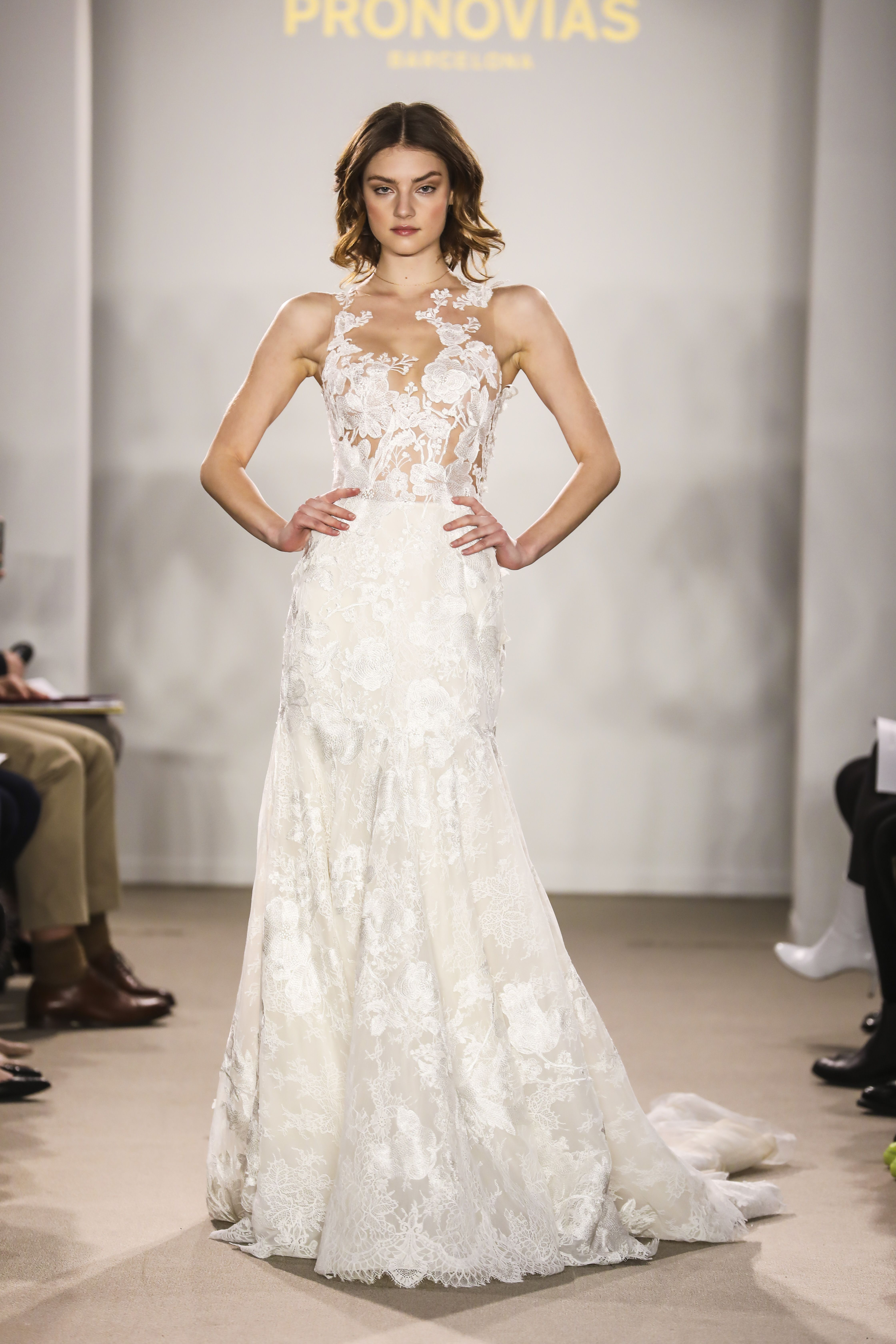 randa from the atelier pronovias 2018 preview collection