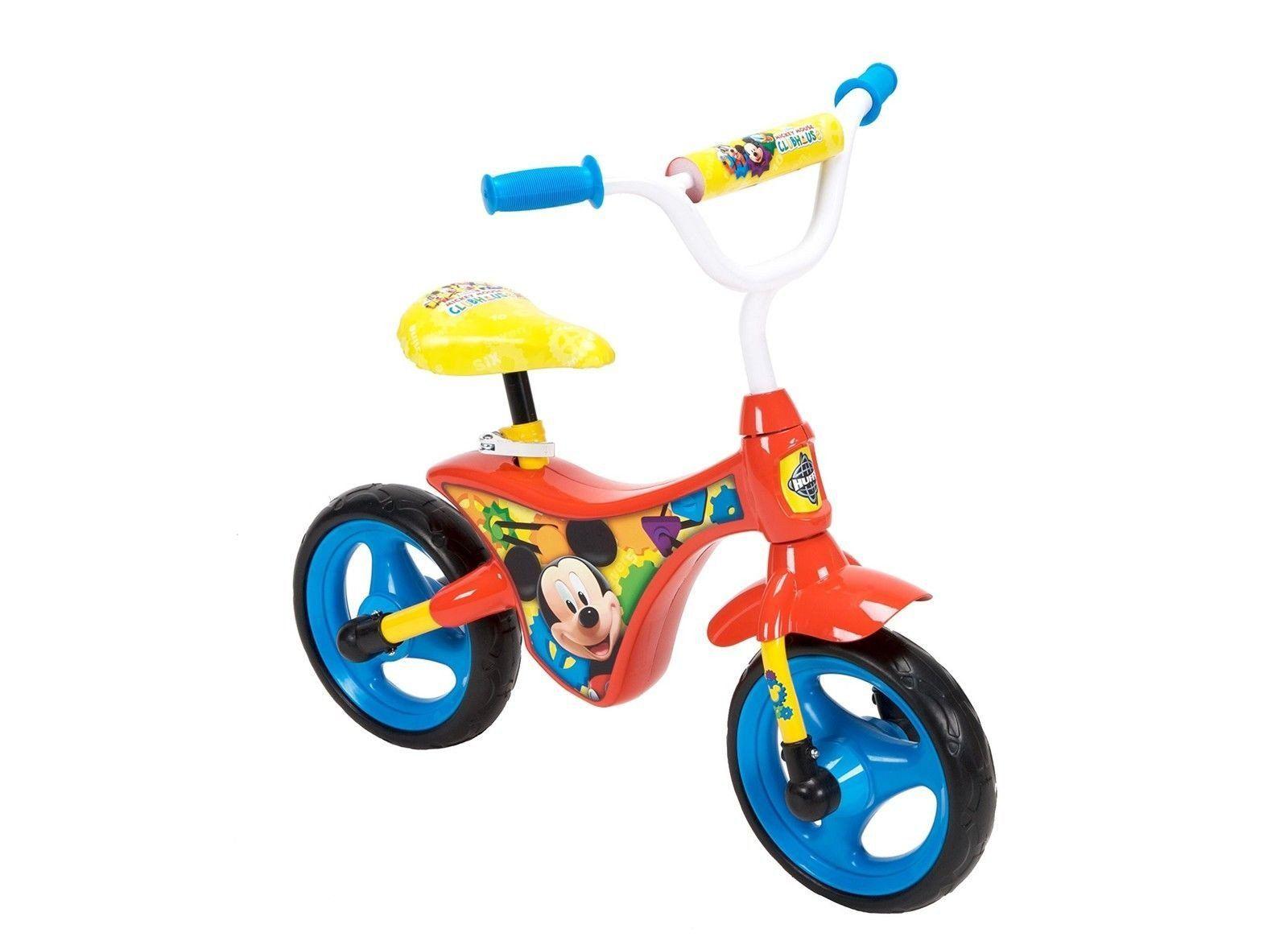 Huffy Bicycle Company Mickey Mouse Balance Bike Balance Bike Bike Childrens Bike