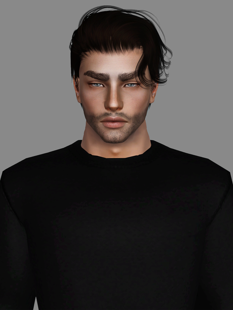 "simsway: "" Anto - Electric (Converted & Retextured) I had some free time this morning so I decided to convert and share this hair. As far as I know, Anto allows conversions to ts3 since he's still not..."