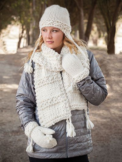 ANNIE'S SIGNATURE DESIGNS: Lovikka Set Knit Pattern designed by Lena Skvagerson for Annie's. Order here: https://www.anniescatalog.com/detail.html?prod_id=132945&cat_id=2387