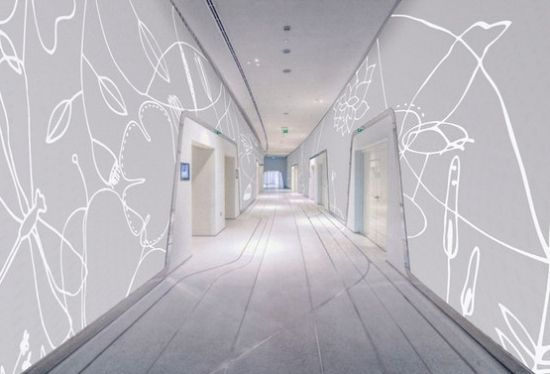 moderne akustik wandpaneele tela design tiermuster | ideen rund, Hause deko
