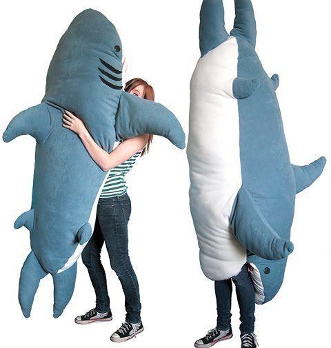 shark pillow HUNGRY. nom nom nom | Sharks | Pinterest | Shark, Nom ...