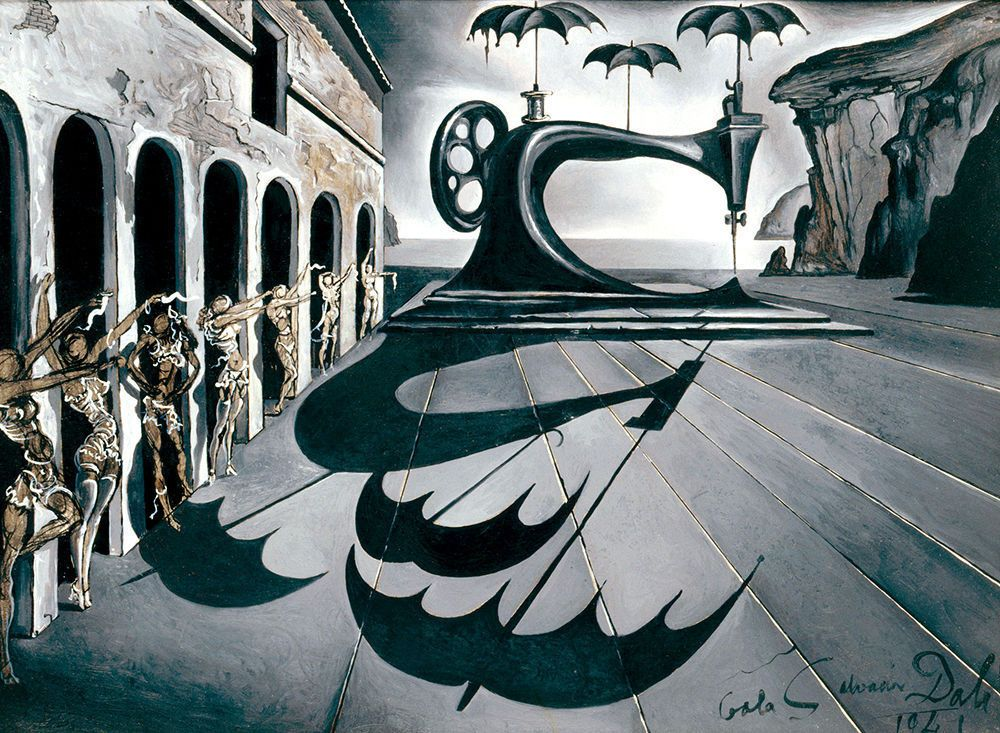 Salvador Dali Madonna Art Silk poster 12x18 24x36