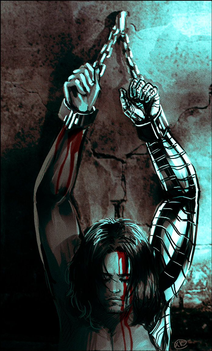 Captain America: The Winter Soldier   Chained By MaXKennedy On DeviantArt