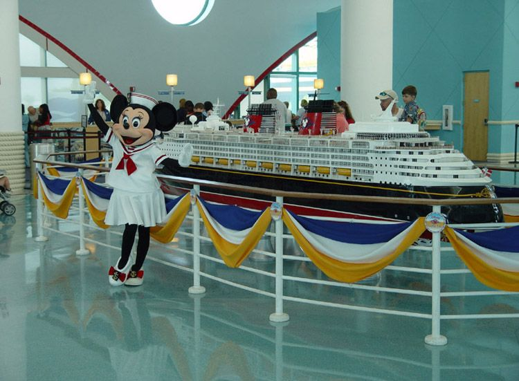 Port Canaveral - Disney Cruise port