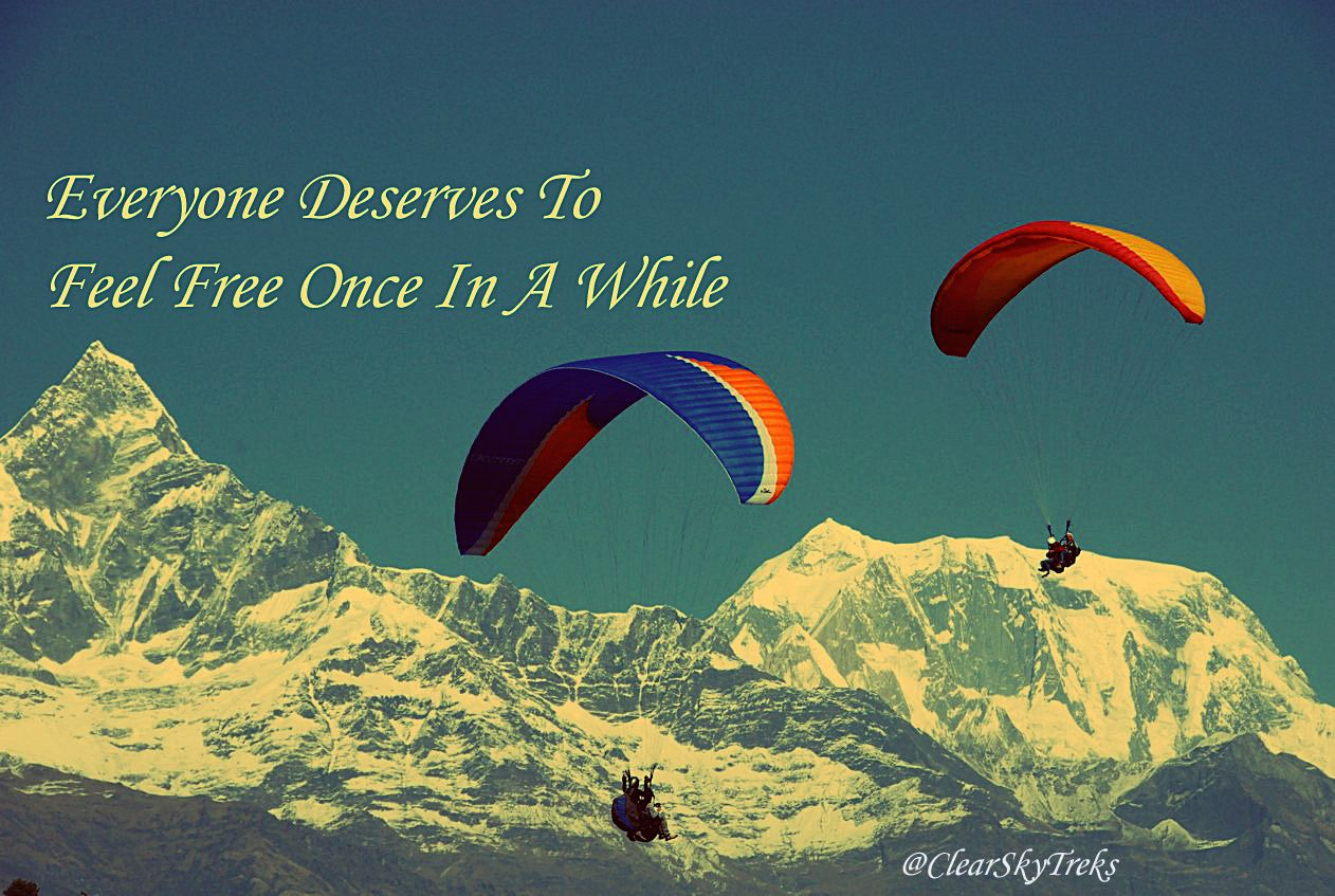Adventure Activities In Nepal Clear Sky Treks And Expedition Paragliding Adventure Activities Adventure Sports