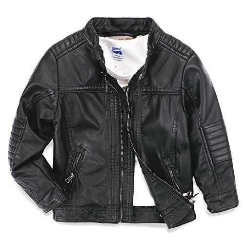 Ljyh Boys Leather Jacket New Spring Children S Collar Motorcycle Leather Zipper Coat More Info Boys Leather Jacket Leather Jackets Women Kids Parka Jacket