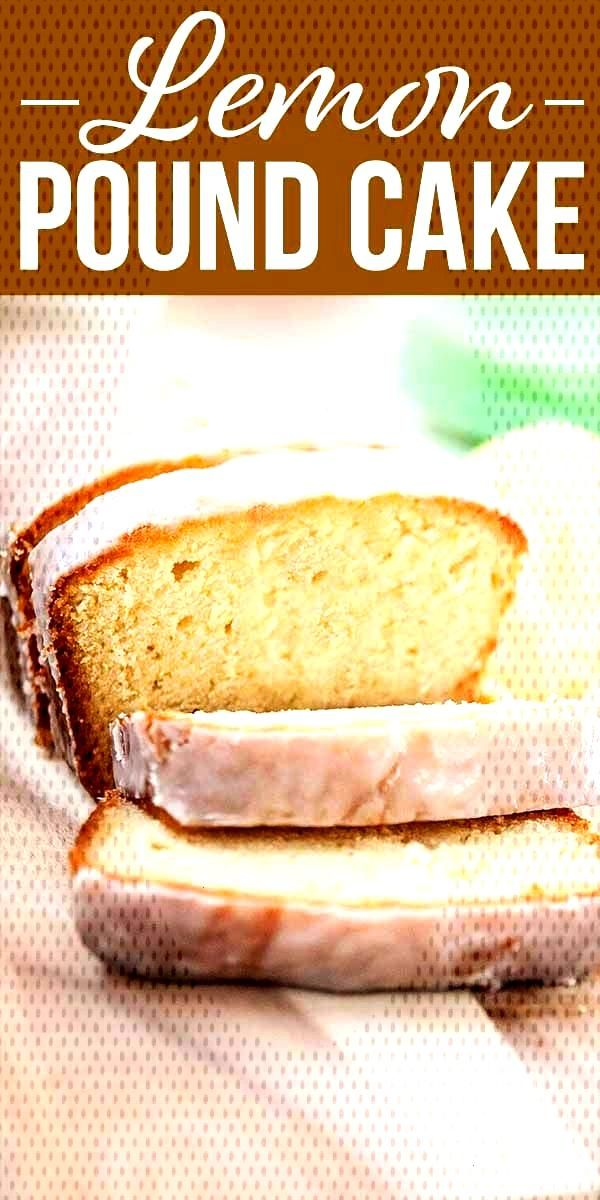 Lemon Pound Cake! If youre looking for bold lemon flavor, look no further! This lemon pound cake i